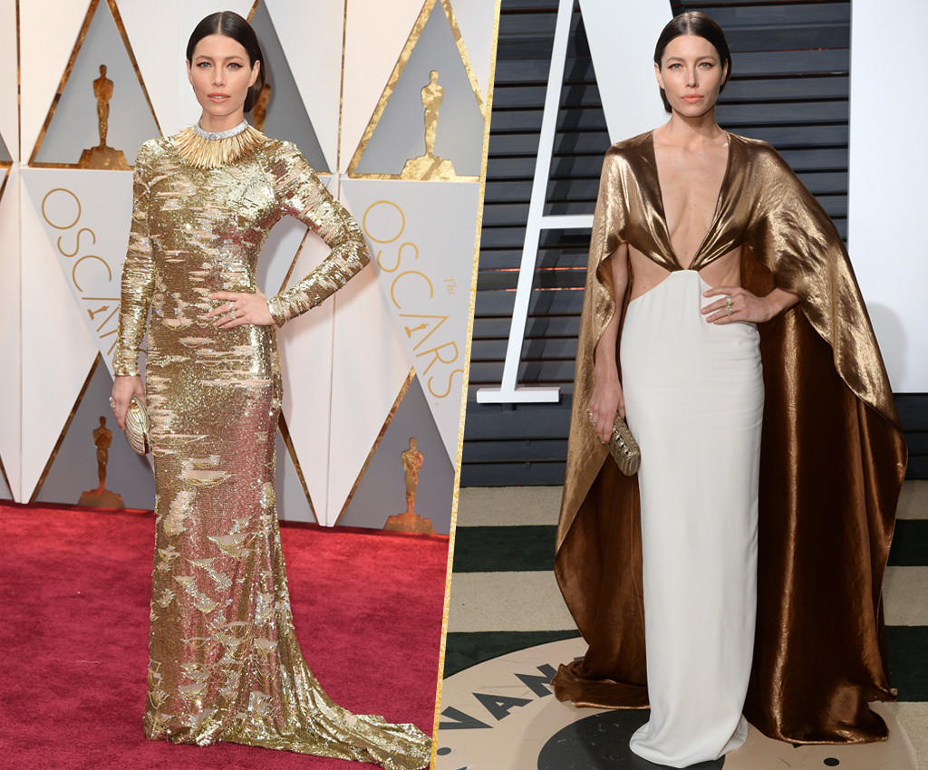 ESC, Jessica Biel, 2017 Oscars, After-Party Looks
