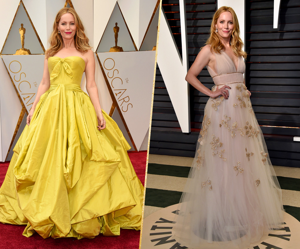 ESC, Leslie Mann, 2017 Oscars, After-Party Looks