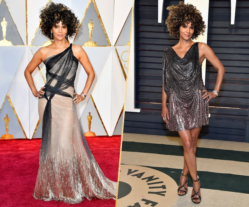ESC, Halle Berry, 2017 Oscars, After-Party Looks