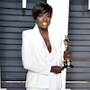 Viola Davis, 2017 Oscars, Vanity Fair After Party