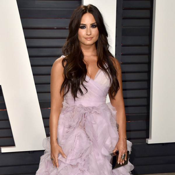 Demi Lovato, 2017 Oscars, Vanity Fair After Party