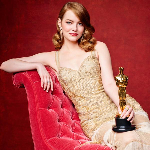 2017 Oscars Winners Portraits