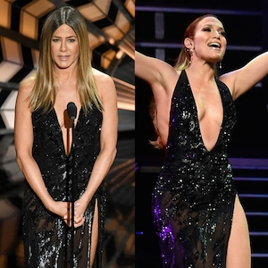 Jennifer Aniston, Jennifer Lopez, 2017 Oscars, Academy Awards, Show