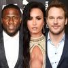 Demi Lovato, Chris Pratt, Kevin Hart