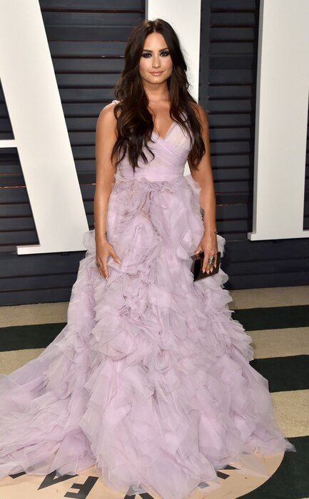 Demi Lovato, 2017 Oscars, Vanity Fair After Party