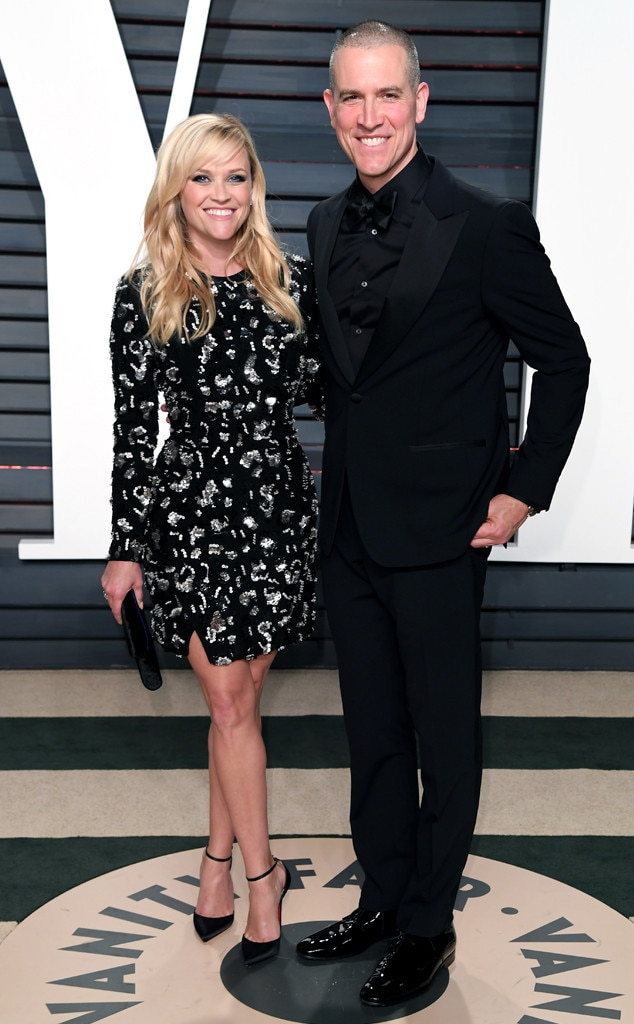 Reese Witherspoon & Jim Toth from 2017 Vanity Fair Oscars After-Party | E! News