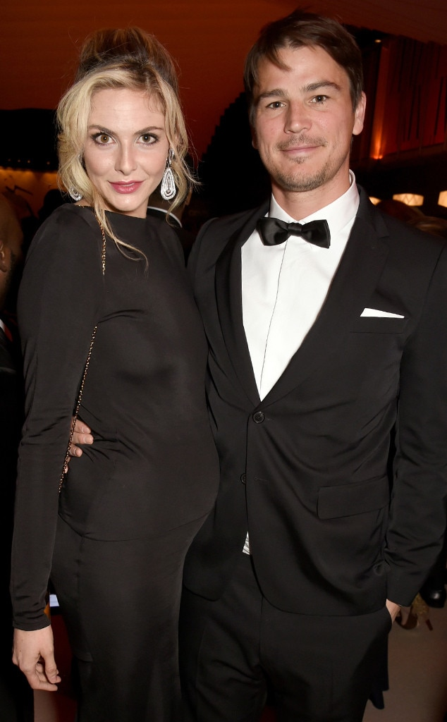 Tamsin Egerton, Josh Hartnett, Vanity Fair Oscar Party