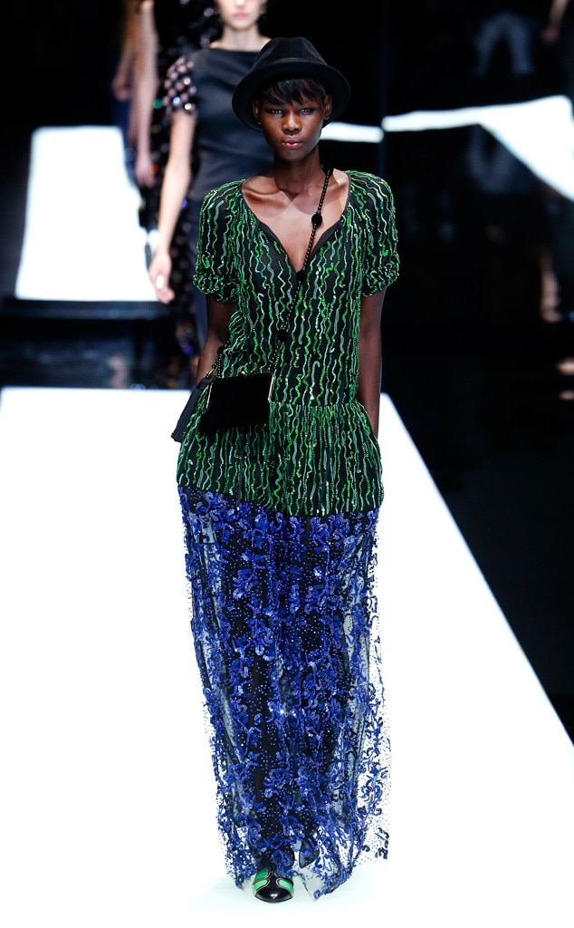 Giorgio Armani from Best Looks From Milan Fashion Week ...