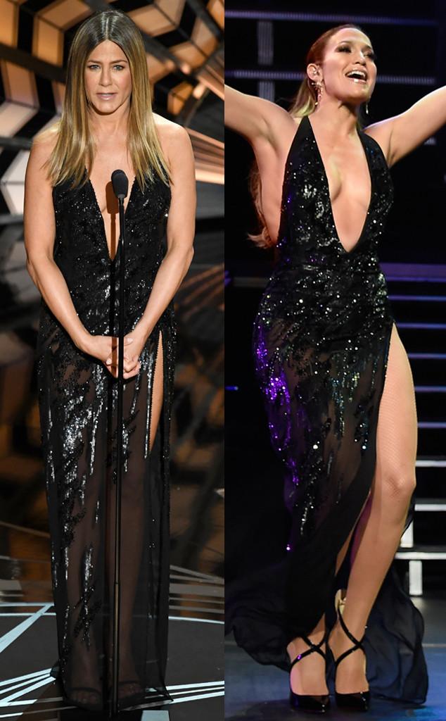 Jennifer Aniston, Jennifer Lopez, 2017 Oscars, Academy Awards, Show