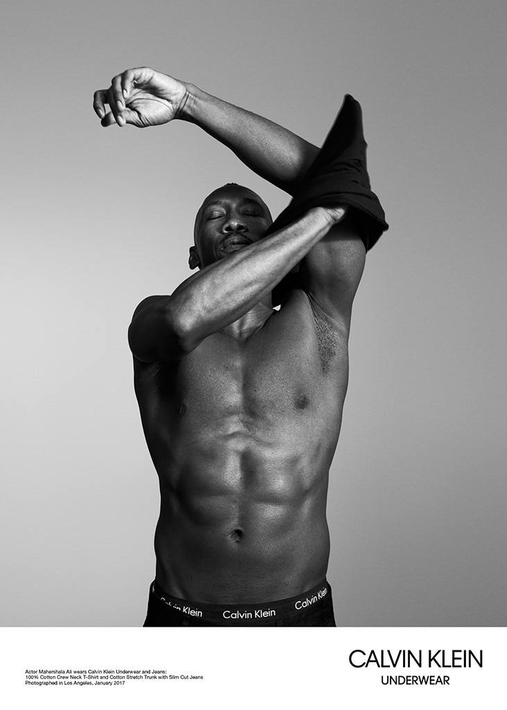 Moonlight Cast, Calvin Klein Underwear Campaign