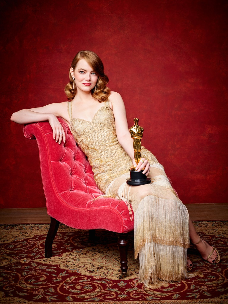 emma stone from 2017 oscars winners portraits