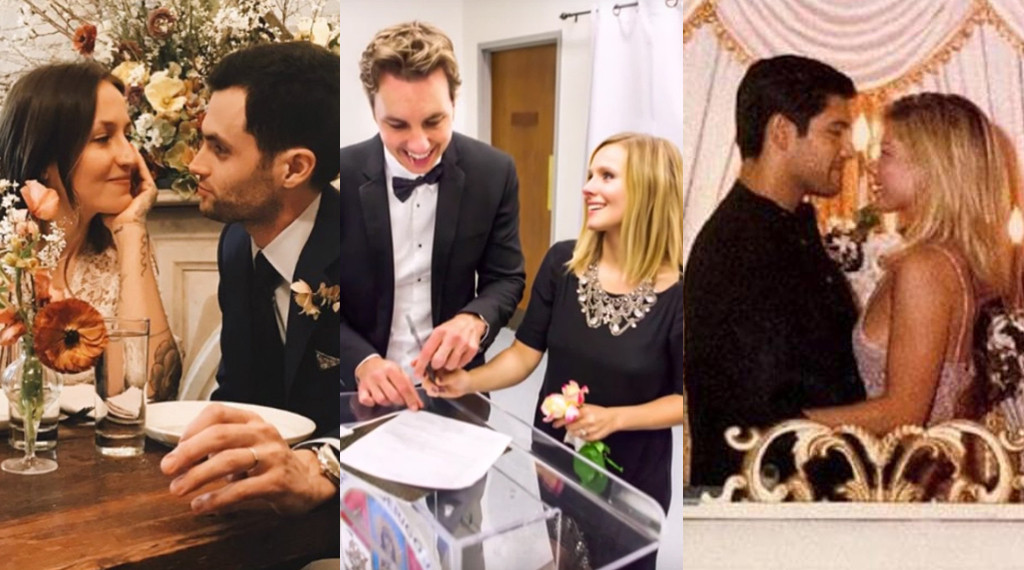 Celebrity No Frills Celeb Weddings