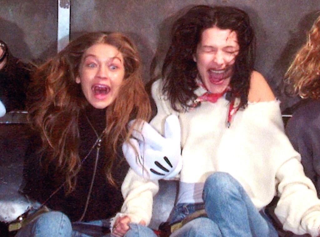 Gigi Hadid, Bella Hadid, Disney