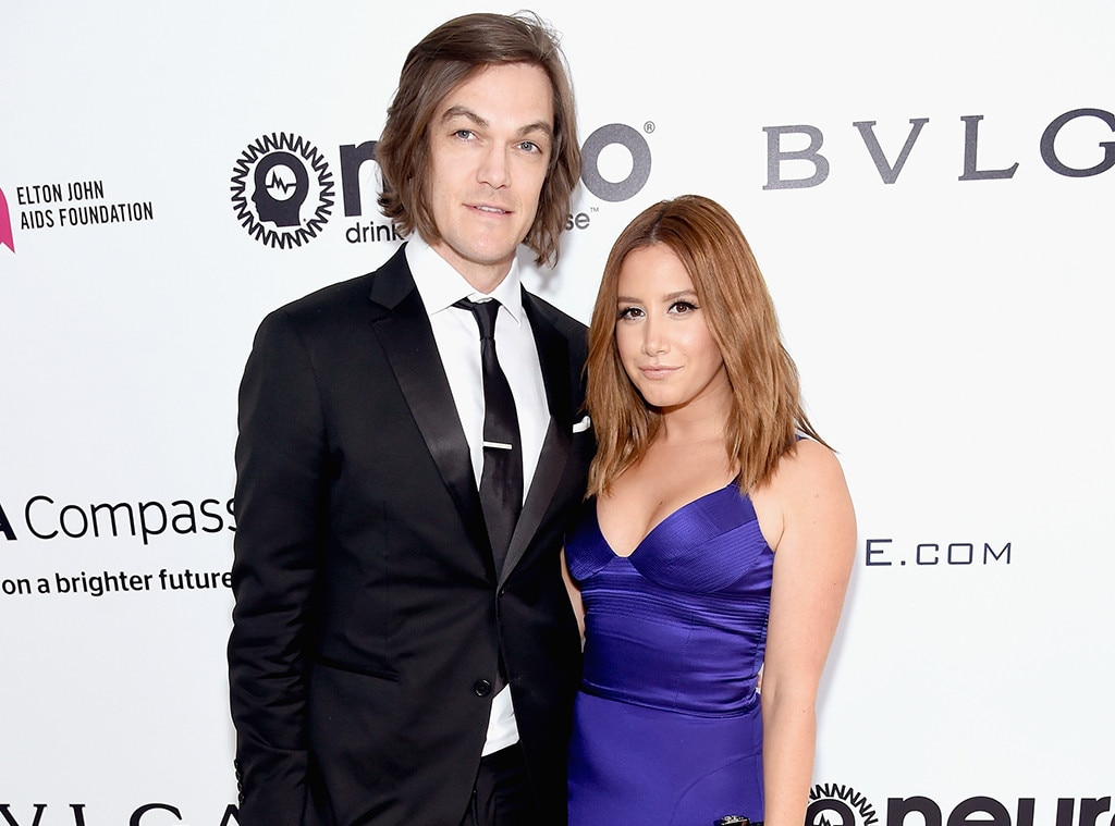 Christopher French, Ashley Tisdale, Elton John Party