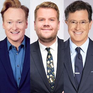 James Corden, Conan O'Brien, Stephen Colbert