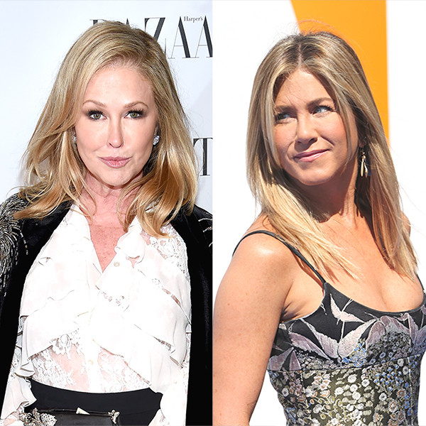 Kathy Hilton, Jennifer Aniston