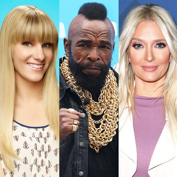 Heather Morris, Mr. T, Erika Jayne