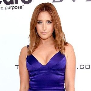 Ashley Tisdale, Elton John Party