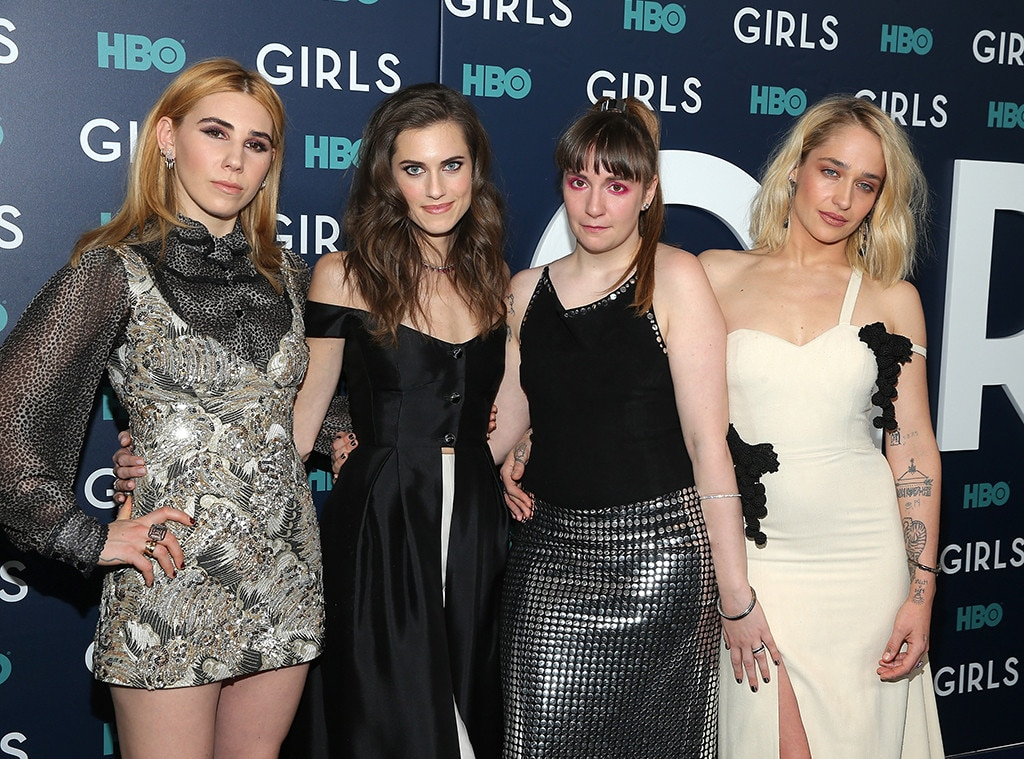 Zosia Mamet, Allison Williams, Lena Dunham, Jemima Kirke, Girls