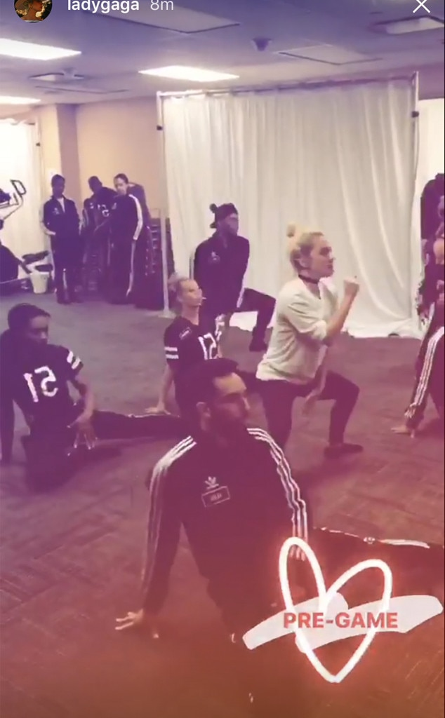 Lady Gaga, Super Bowl LI Prep