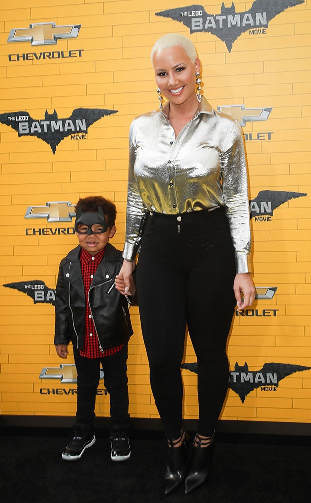 Amber Rose, Sebastian Taylor Thomaz, Batman Lego Movie