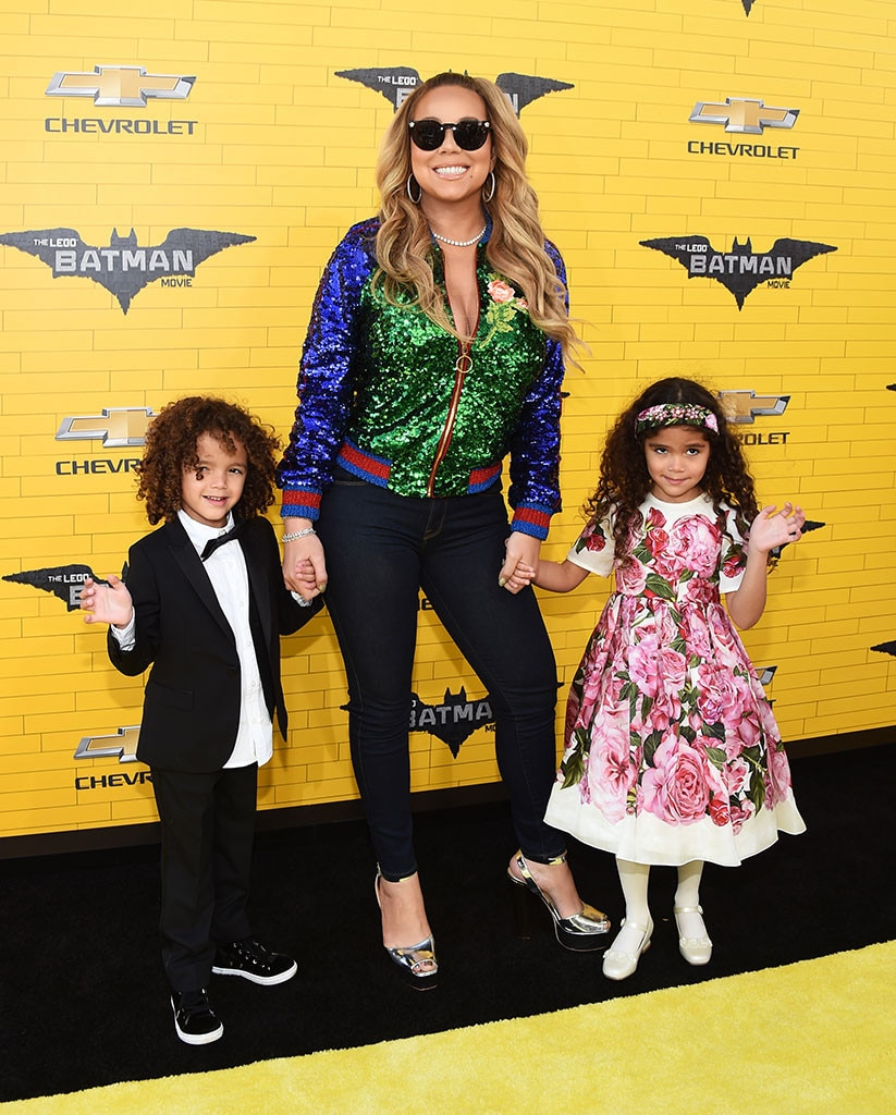 Mariah Carey, Scott Cannon, Monroe Cannon, Batman Lego Movie