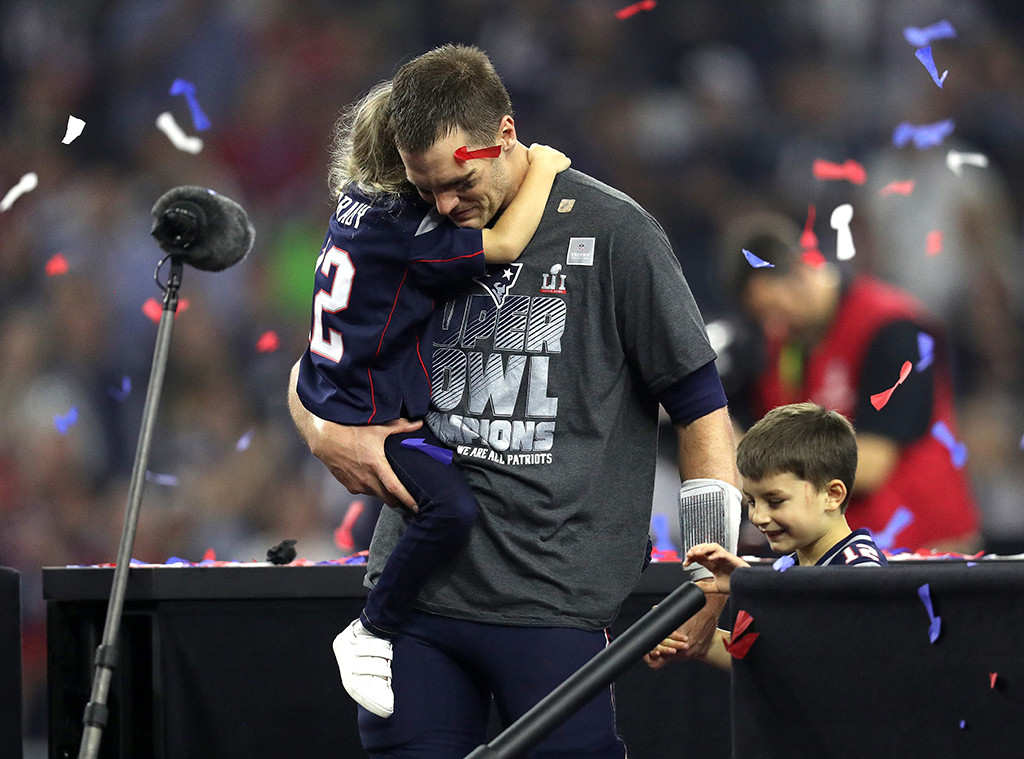Tom Brady, Vivian Brady, 2017 Super Bowl