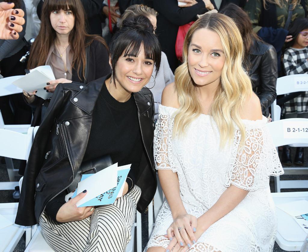 Lauren Conrad, Baby Bump, Emmanuelle Chriqui, Rebecca Minkoff's ''See Now, Buy Now'' Fashion Show