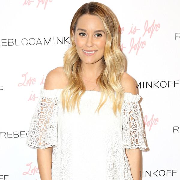 Lauren Conrad, Baby Bump, Rebecca Minkoff's ''See Now, Buy Now'' Fashion Show