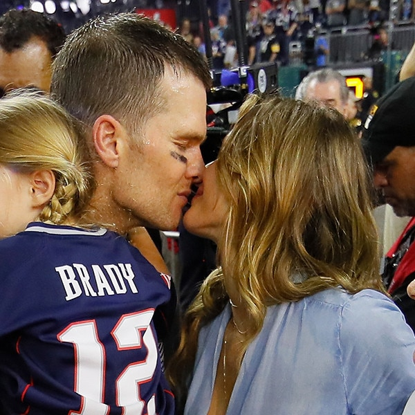 Tom Brady, Gisele Bundchen, 2017 Super Bowl