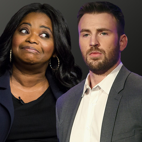 Octavia Spencer, Chris Evans, Celebrity Super Bowl Feud