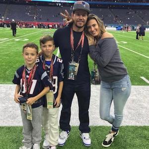 Mark Wahlberg, Family, 2017 Super Bowl