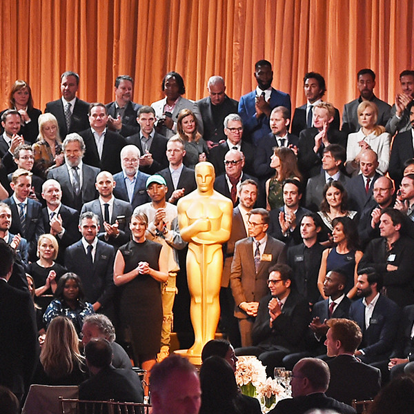 Oscars Class Photos Throughout the Years