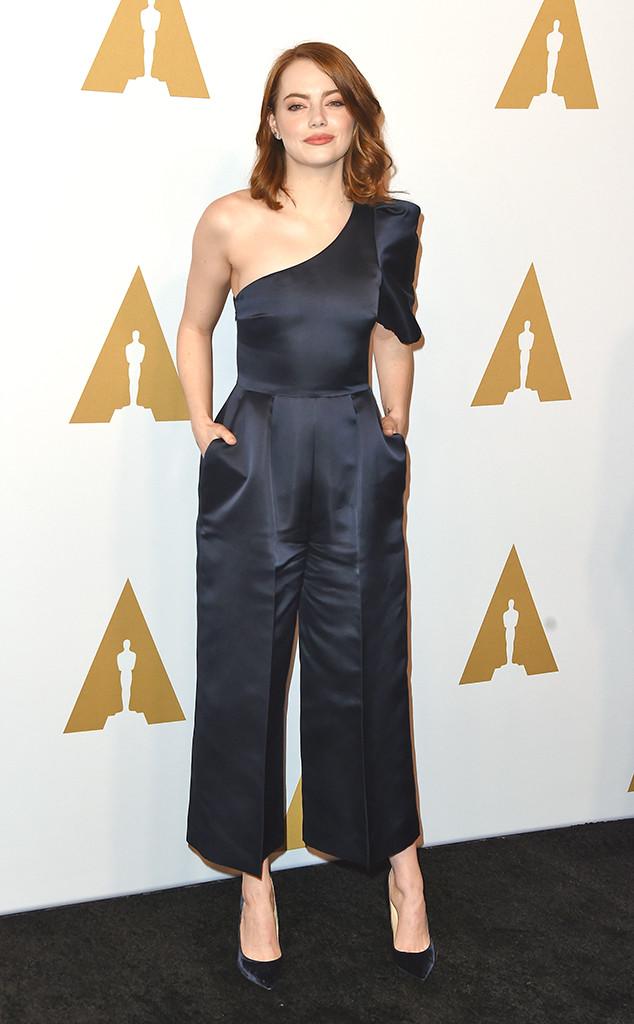 Emma Stone, Oscars Luncheon