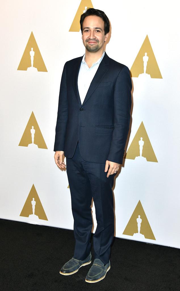 Lin-Manuel Miranda, Oscars Luncheon
