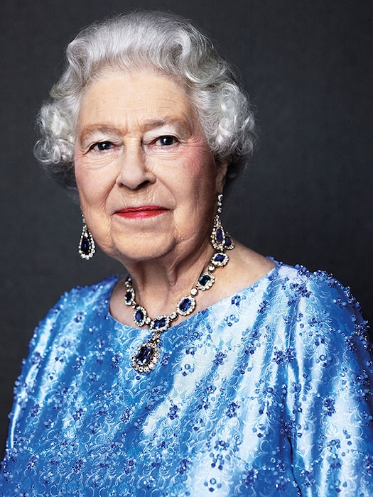 Queen Elizabeth, Sapphire Jewelry