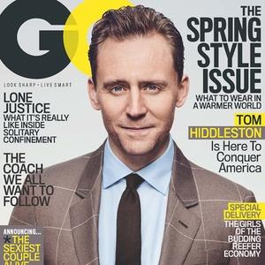 Tom Hiddleston, GQ