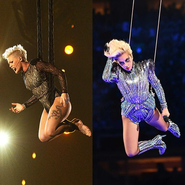 Pink, Lady Gaga
