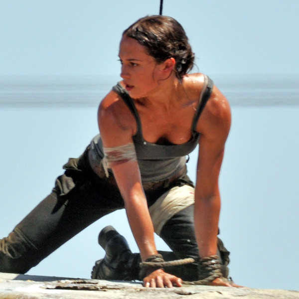 angelina jolie tomb raider hot