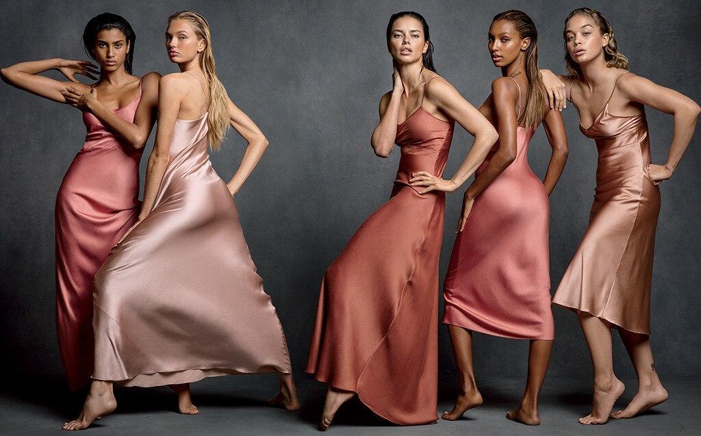 Imaan Hammam, Romee Strijd, Adriana Lima, Jasmine Tookes, Jasmine Sanders, Vogue March 2017