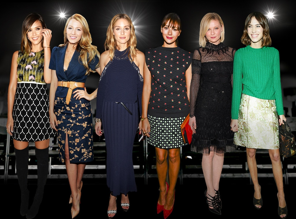 Whos Who of NYFW Front Row, The Vets