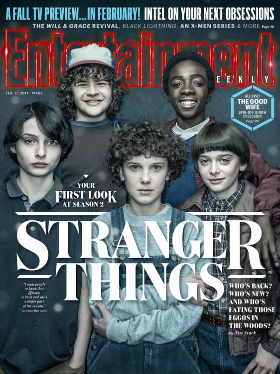 Stranger Things, Entertainment Weekly cover