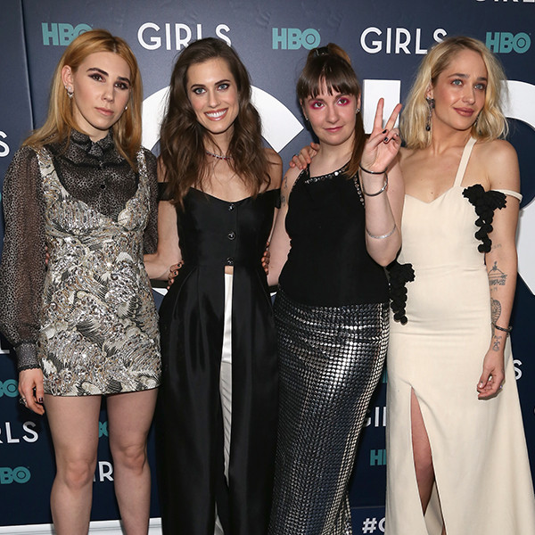 Zosia Mamet, Allison Williams, Lena Dunham, Jemima Kirke, Girls Premiere, New York