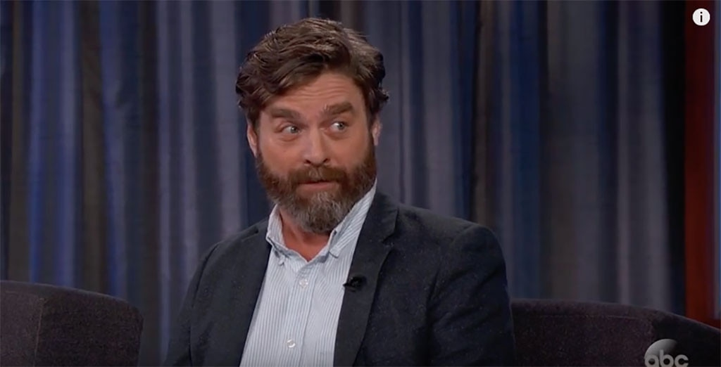 Zach Galifianakis, Jimmy Kimmel