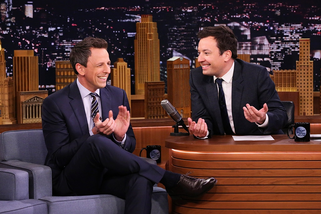 Jimmy Fallon, Seth Meyers, The Tonight Show
