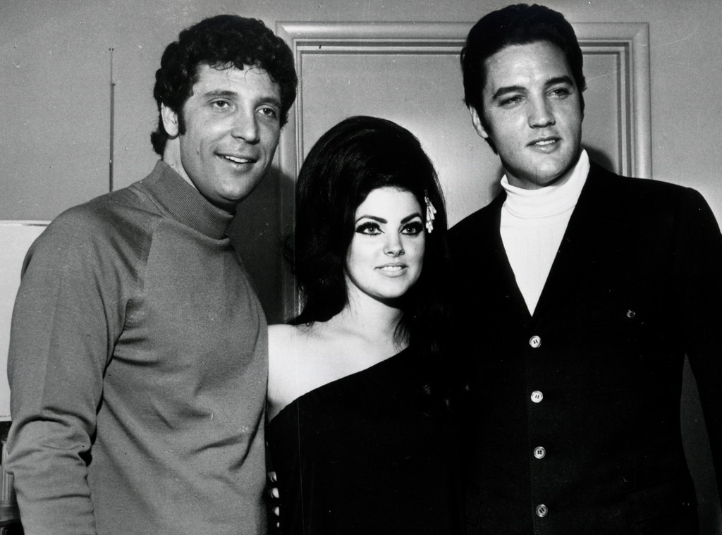 Priscilla Presley, Tom Jones, Elvis Presley