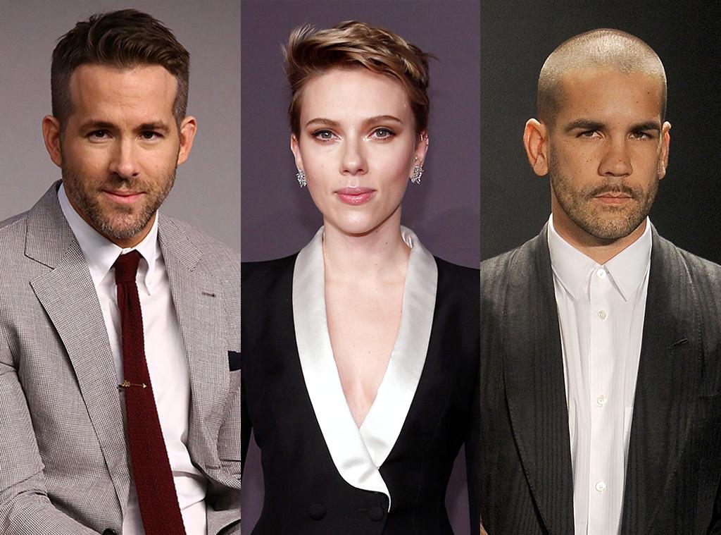 Scarlett Johansson Ryan Reynolds Romain Dauriac