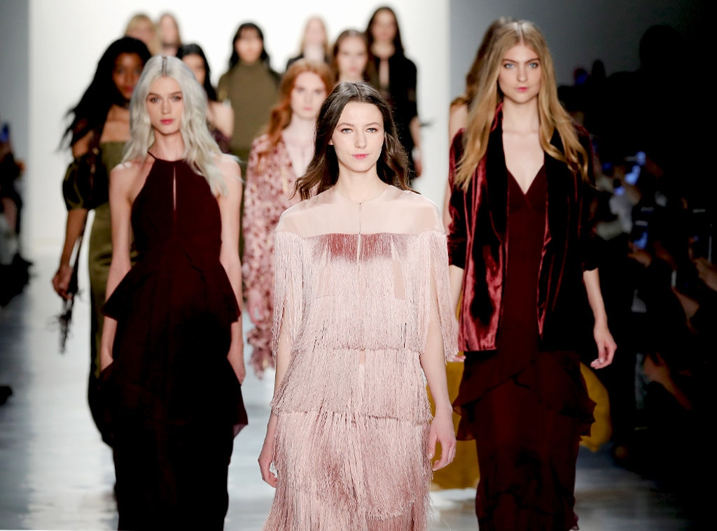 New York Fashion Week Fall 2017 Best Looks From The Runway E News Uk