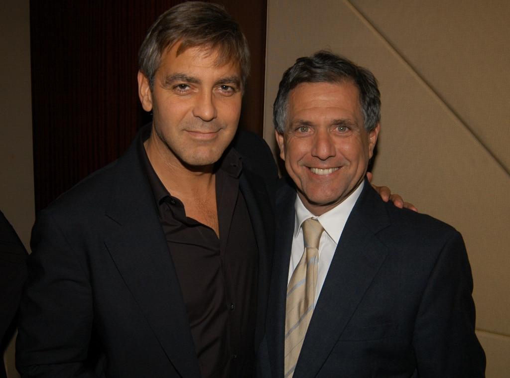 George Clooney, Leslie Moonves