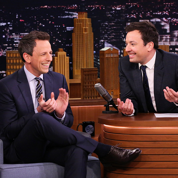 Jimmy Fallon, Seth Meyers, The Tonight Show